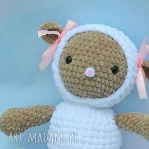 szydełkowa owieczka basia, owca, owieczka, roczek, chrzciny, szydełowa, miękka