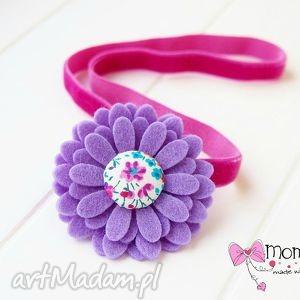 handmade ozdoby do butów opaska do włosów z kwiatuszkiem