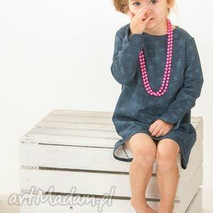 jeans star sukienka, elegancka, jeans, granatowa, modnisia
