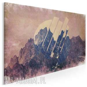 obraz na płótnie - loft wzgórza 120x80 cm 53201, góra, wzgórze
