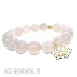 gwiazdka sniezynka w agacie, gwiazdka, agat, kamienie, zloto, elegancka, prezent