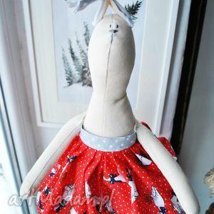 Prezent Pani Królik, maskotka, zabawka, przytulanka, szmacianka, prezent, handmade