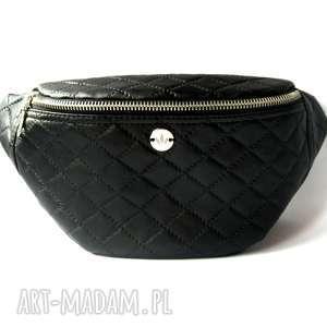 Black Caro nerka /saszetka, nerka, saszetka, autorska, pikowana, podróżna, pikówka