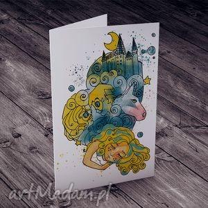 hand-made kartki karteczka urodzinowa dla dziewczynki