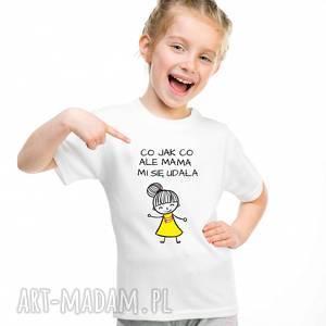 koszulki t-shirt koszulka dziecięcy co jak ale mama mi się udała, dlasyna
