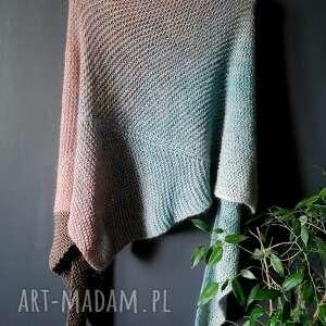 Diżachusta z meribo szaliki the wool art szal, chusta, naszyję