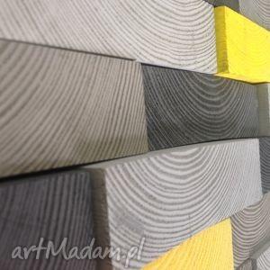 Drewniany obraz NA ZAMÓWIENIE, mozaika, drewno, ściana, obraz, ozdona,