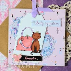 hand-made kartki kartka - bądź szczęśliwa