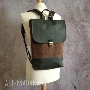 damski plecak, przechowywanie, skórzany mini plecak