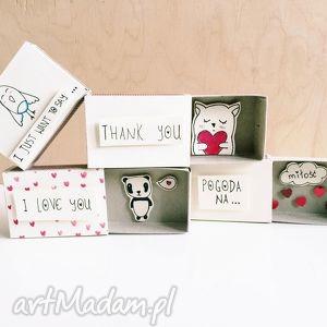 pudełeczko pozapałkowe pogoda na miłość - ,miłość,love,you,kocham,pudełeczko,pudełko,