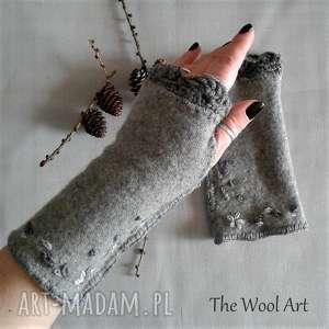 Prezent rękawiczki mitenki, rękawiczki, prezent, wełniane, ciepłe