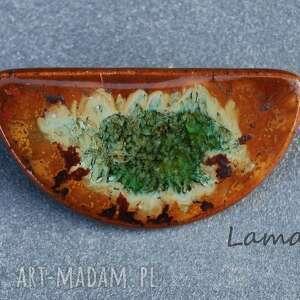 pomysł na upominek święta Ceramiczna Broszka., imieniny, urodziny, święta, prezent
