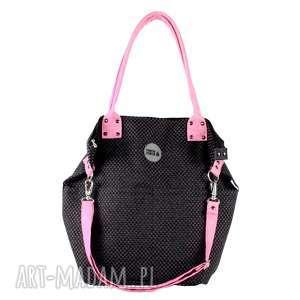 torvba worek pocket tukan #plecionka czarna2, torba, zakupy, podróże, czarna