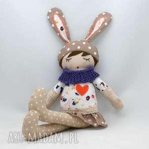 ręczne wykonanie maskotki lala przytulanka hania śpioszka, 46 cm