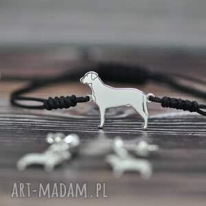 hand-made duży szwajcarski pies pasterski - bransoletka