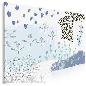 obraz na płótnie - natura rzeka 120x80 cm 62006, natura, rosliny