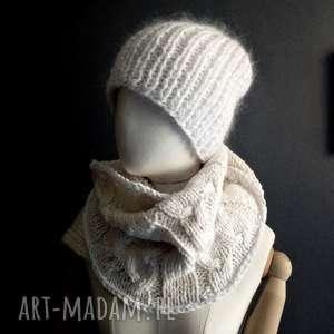 ciepła czapka, białaczapka, czapka-na-drutach, ciepła-czapka,