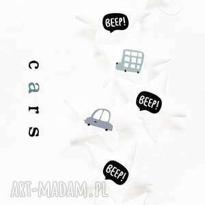 pokoik dziecka cars - girlanda auta, girlanda, gwiazdki, cars, świąteczny