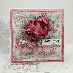 kartka dla babci - babcia, kartkadlababci, prezentdlababci, scrapbooking, kartka