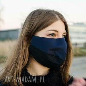 maseczki designerska ochronna maska z bawełny dwukolorowa
