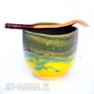 Ceramiczna czarka- JT nr21 , ceramika, naczynie, czarka, unikatowe, użytkowe