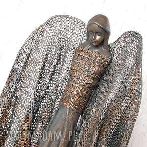 handmade dekoracje anioł dostatku