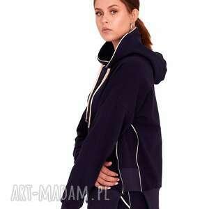 bluza dresowa style granatowa, bluzy, dres, sukienka, bluzki, spodnie, spódnica