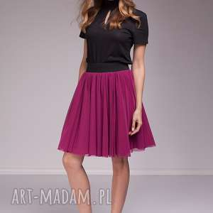 spódnice spódnica coline, tiulowa, moda