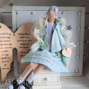 anioł pamiątka pierwszej komunii świętej, anioł, lalka, pamiątka