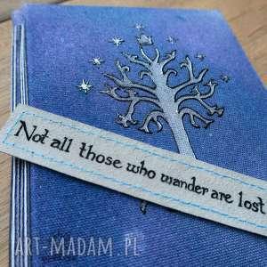 Zestaw Tolkien: Gondor - zeszyt A5 i zakładka do książki, tolkien, gondor, drzewo