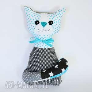 Kotek Miau - Aleks 25 cm, kot, kotek, maskotka, przytulanka, chłopczyk, dziewczynka