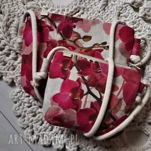 zestaw mama córka orchidea, córka, torebka, torba, mini, lato, boho