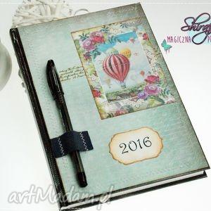 notesy kalendarz 2016 - w stronę słońca, kalendarz, książkowy, 2019, balon