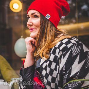 handmade czapki czerwony dywan long