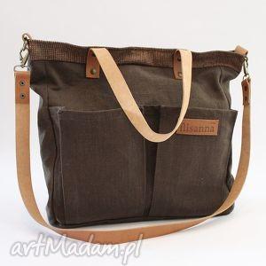 f759df14436e2 handmade torba brązowa - Skóra nietuzinkowe