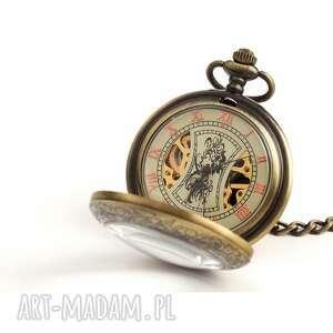 handmade zegarki brązowy klasyk