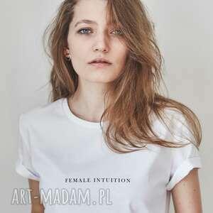 koszulki female intuition t-shirt, female