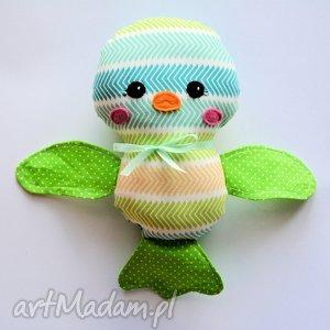 handmade zabawki ptaszek ćwirek wojtek
