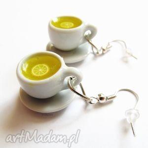 handmade kolczyki kolczyki czas na herbate