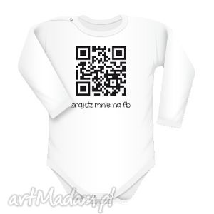 ubranka body qr code, body, qr, napisy, śmieszne, text, świąteczny prezent
