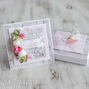 kartka na slub rocznicę urodziny - rocznica, prezent, wesele