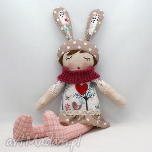 lalki lala przytulanka gabrysia śpioszka, 46 cm, lalka, lala, prezent,