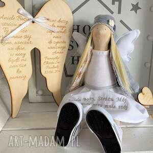 lalki anioł pamiątka pierwszej komunii świętej chrztu świętego, anioł