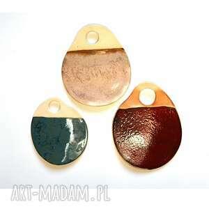 3 x podstawka ceramiczna ceramika wooden love podstawka, talerz