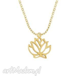 celebrate - flower - necklace g - ,naszyjnik,łańcuszek,celebrytka,zawieszka,kwiatek,