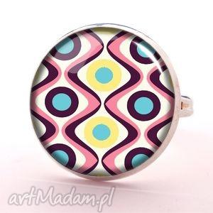 handmade pierścionki lata 60-e - pierścionek regulowany