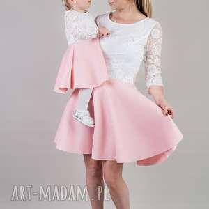komplet sukienek julia dla mamy i córki koronka, koronkowesukienki, takiesame