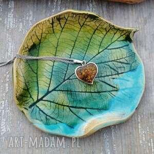talerzyk ceramiczny, liść c92, ceramika, lipa, talerzyk, liść, ceramiczny