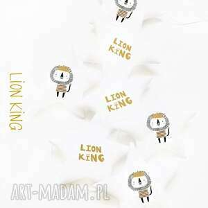 pod choinkę prezent, lion - girlanda lew, girlanda, gwiazdki, gwiazdka