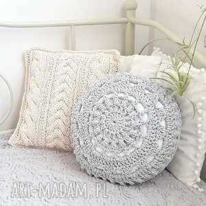 pod choinkę prezent, poduszka mandala one, poduszka, okrągła
